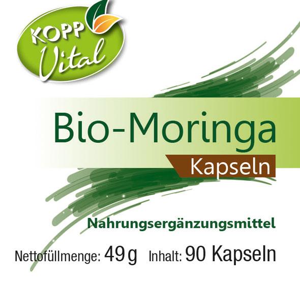 Moringe in Bio-Qualität